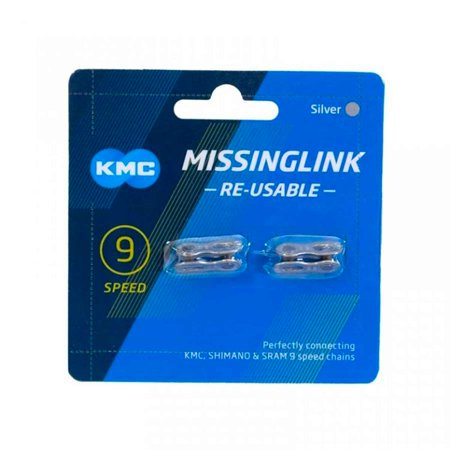 KMC 9-Speed Bicycle Chain Missing Link - 2-Pack - 766759056605