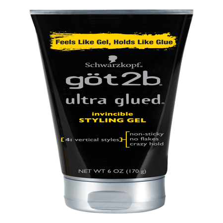 Got2b Ultra Glued Invincible Styling Hair Gel, 6