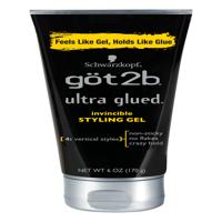 Got2b Ultra Glued Invincible Styling Hair Gel, 6 Ounce