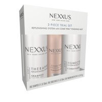 Nexxus for Normal to Dry Hair 3 Piece Trial Set, 3 oz and 1.5 oz