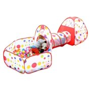 0e6a15233141 Hilitand 3 in 1 Ball Pit Tent Indoor Outdoor Play Tent Portable Kids Indoor  Outdoor Play