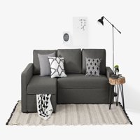 South Shore Live-it Cozy Sectional Sofa-Bed with Storage, Multiple Finishes