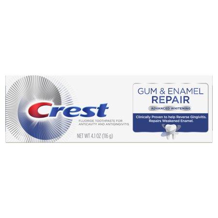 Crest Gum & Enamel Repair Toothpaste, Advanced Whitening, (Gum Toothpaste)