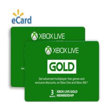 3 Month Xbox Live Gold Membership with Bonus 3 Month Token Free (Email Delivery)