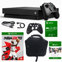 Xbox One X 1TB Console with NBA 2K 18 and Accessories