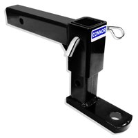 """Connor Adjustable Trailer Hitch - 2"""" Ball Hitch (GTW-5000 lb.) , 1625200 Ball Mount"""