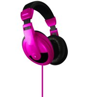 Vibe Sound DJ Style Stereo Over Ear Headphones for All Devices with 3.5mm Jack