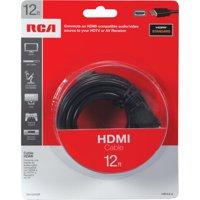 RCA VH12HHR 12' HDMI to HDMI Cable