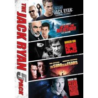 Jack Ryan Collection 5 Movies (DVD)