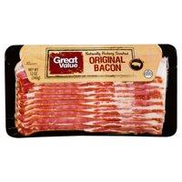 Great Value Original Bacon, 12 Oz.