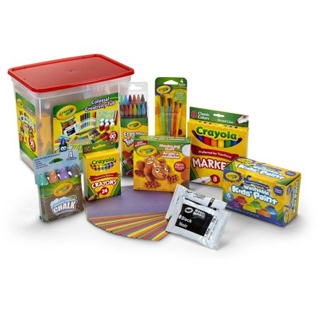 Crayola Colossal Creativity Tub, Art And Craft Supplies, Gift, 90 - Michael Art Supply