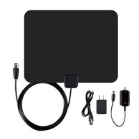 Ematic HDTV Antenna and Amplifier, 50-Mile Range (EDT201ANT)