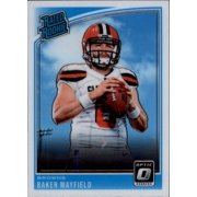 078ad9875 2018 Donruss Optic  153 Baker Mayfield Cleveland Browns Rookie Football Card
