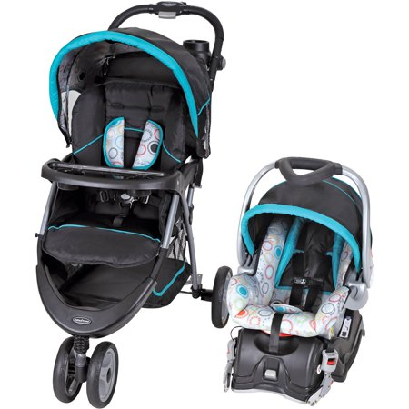 Baby Trend EZ Ride 5 Travel System, Circle Stitch