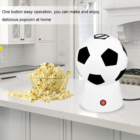 1200W Creative Soccer Ball Electric Household Hot Air Popcorn Maker Popper Machine