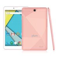 "Plum Optimax 11 - Tablet + Phone Phablet 8"" Display 16GB Memory 4G GSM Unlocked Android ATT Tmobile MetroPCS Cricket Simple Mobile – Rose Gold"