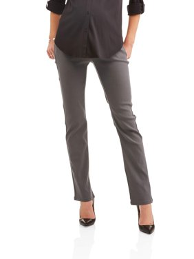 Maternity Stretch Twill Bootcut Pants -- Available in plus Sizes