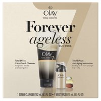 Olay Total Effects Citrus Scrub Cleanser 6.5oz & Total Effects Anti-Aging Face Moisturizer 0.5oz Duo Pack
