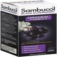 Sambucol Black Elderberry Syrup, Original Formula 7.8 oz