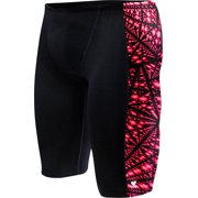 6862f2246c03a TYR Durafast Elite Swim Jammer: Warp Speed, Black/Red, Size 30