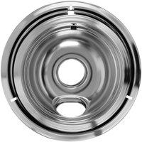 Mainstays™ Chrome Drip Bowl Set 2 pc Pack