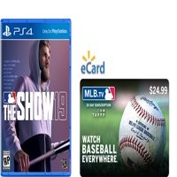 The Show 19 (PS4) & MLB TV Pass