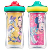 Disney Minnie Mouse Insulated Hard Spout Sippy Cups, 9 Oz, 2 Pk