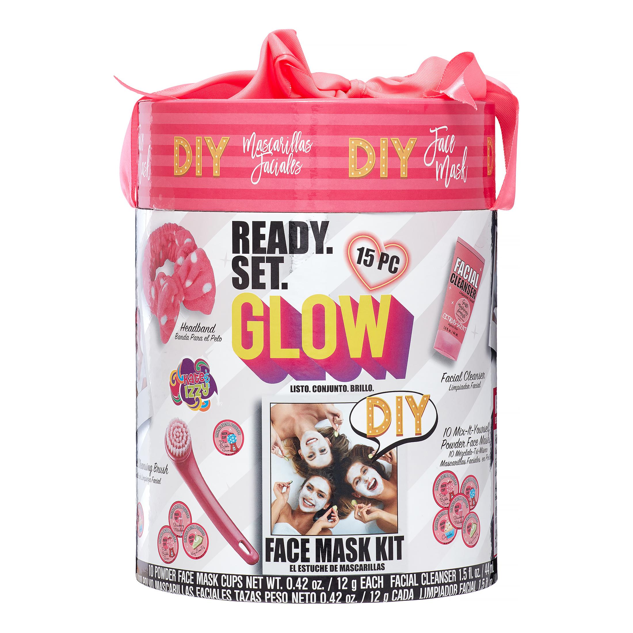 15-Piece Onyx Professional Ready. Set. Glow. DIY Face Mask Gift Set