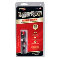 SABRE Red Pepper Spray - Police Strength - Compact Size with Clip (Max Protection - 35 shots, up to 5x's more)