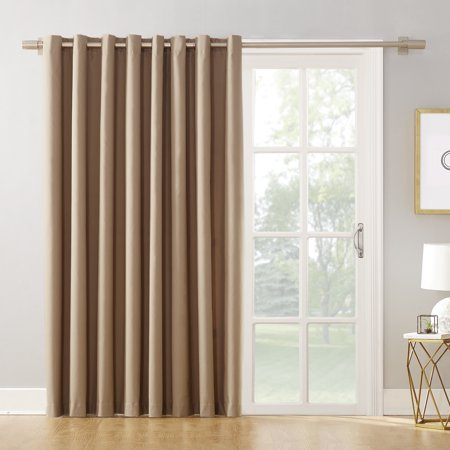 Mainstays Ava Sliding Glass Door Blackout Grommet Curtain