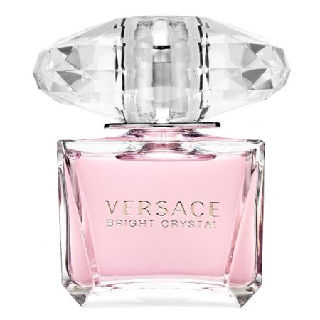 Versace Bright Crystal Eau De Toilette Spray Perfume for Women, 3.3 (Flower 3 Pcs Set Perfumes)