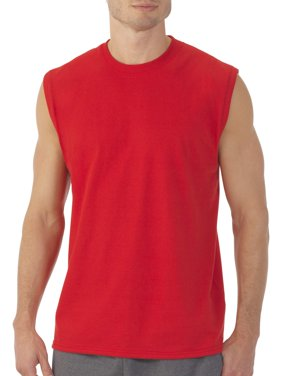 Men's Dual Defense UPF Muscle Shirt, Available up to sizes 4XL