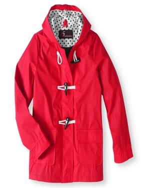 i5 Apparel Girl's Waxie Toggle Rain Slicker Jacket