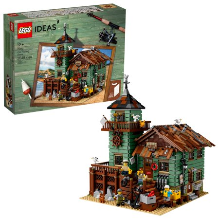 Lego Building (LEGO Ideas Old Fishing Store 21310 Building Set (2,049)