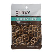 Glutino Fudge Covered Pretzels, 5.5 Oz
