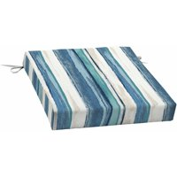 Mainstays Outdoor Patio Dining Seat Cushion, Multiple Patterns