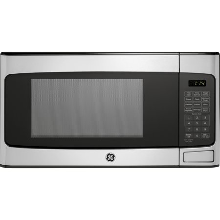 GE 1.1 Cu. Ft. Countertop Microwave Oven, Stainless Steel