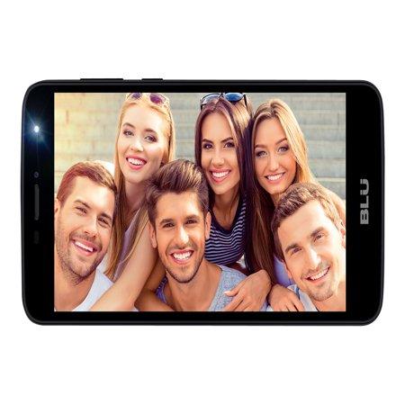 BLU Studio Mega (2018) S910Q - (16GB) 3G HSPA+ Factory GSM Unlocked - Dual SIM - Black (Mega Mobile)