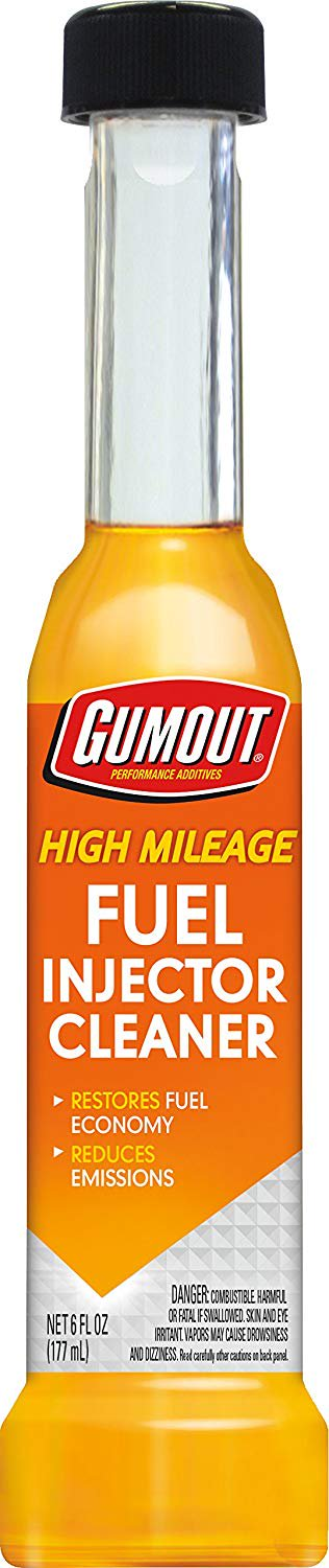 Gumout High Mileage Fuel Injector Cleaner- (Best Fuel Injector Cleaner Reviews)