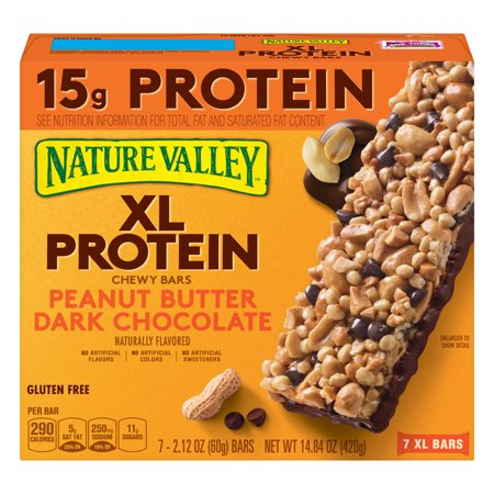 Nature Valley Chewy Granola Bar XL Peanut Butter Dark Chocolate Bars