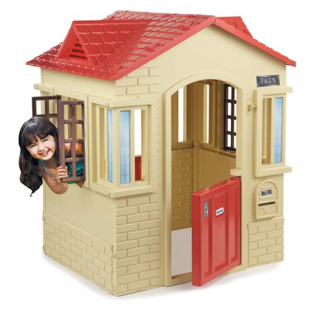 Little Tikes Cape Cottage Playhouse, Tan ()