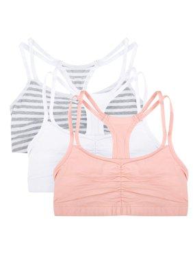 Women's Strappy Sports Bra, Style 9036, 3-Pack