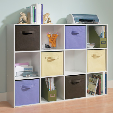 ClosetMaid 12-Cube Organizer, White ()