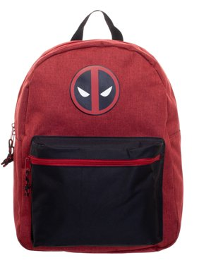 "Marvel Comics Deadpool Logo 2-Tone 16"" Backpack"