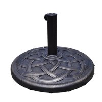 Costway 22'' Umbrella Base for Stand Market Patio Standing Outdoor Living (Round)