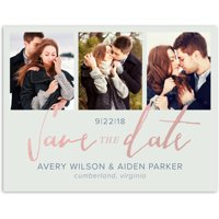 Script Knot Wedding Save the Date Postcard