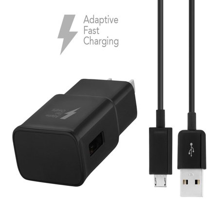 Dual Voltage Box Camera (Kyocera DuraXV Plus Non Camera Charger  MicroUSB 2.0 Cable Kit by Ixir (Car Charger + Cable) True Digital Adaptive Charging uses dual voltages for up to 50% faster charging)