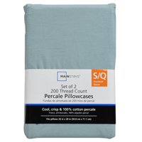 Mainstays 200 Thread Count Percale Sheet Set