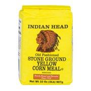 Indian Head Stone Ground Yellow Corn Meal, 32.0 OZ