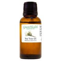 Tea Tree Essential Oil - 1 fl oz (30 ml) Glass Bottle w/ Euro Dropper - 100% Pure Essential Oil by GreenHealth
